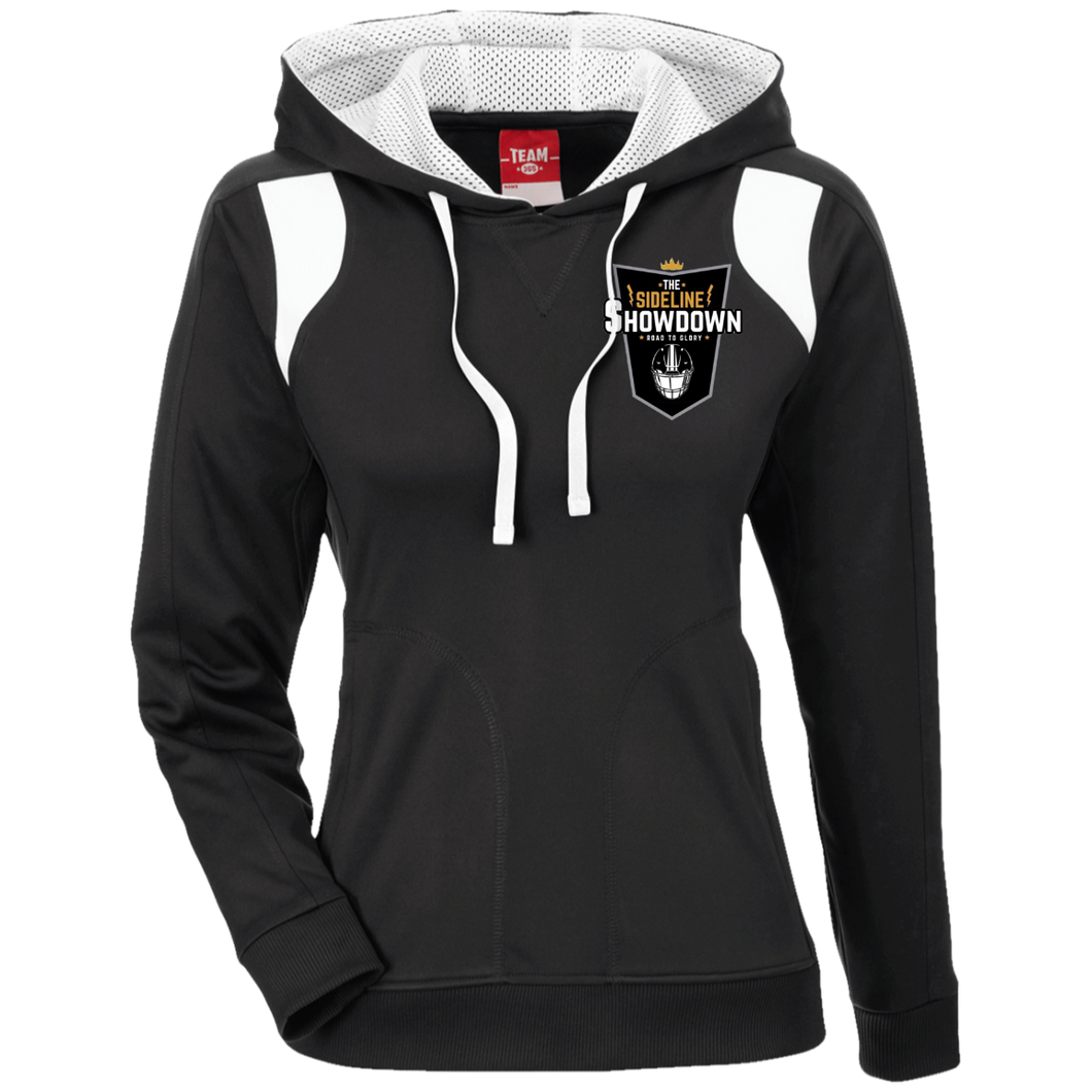 The Sideline Showdown Series Ladies' Colorblock Poly Hoodie