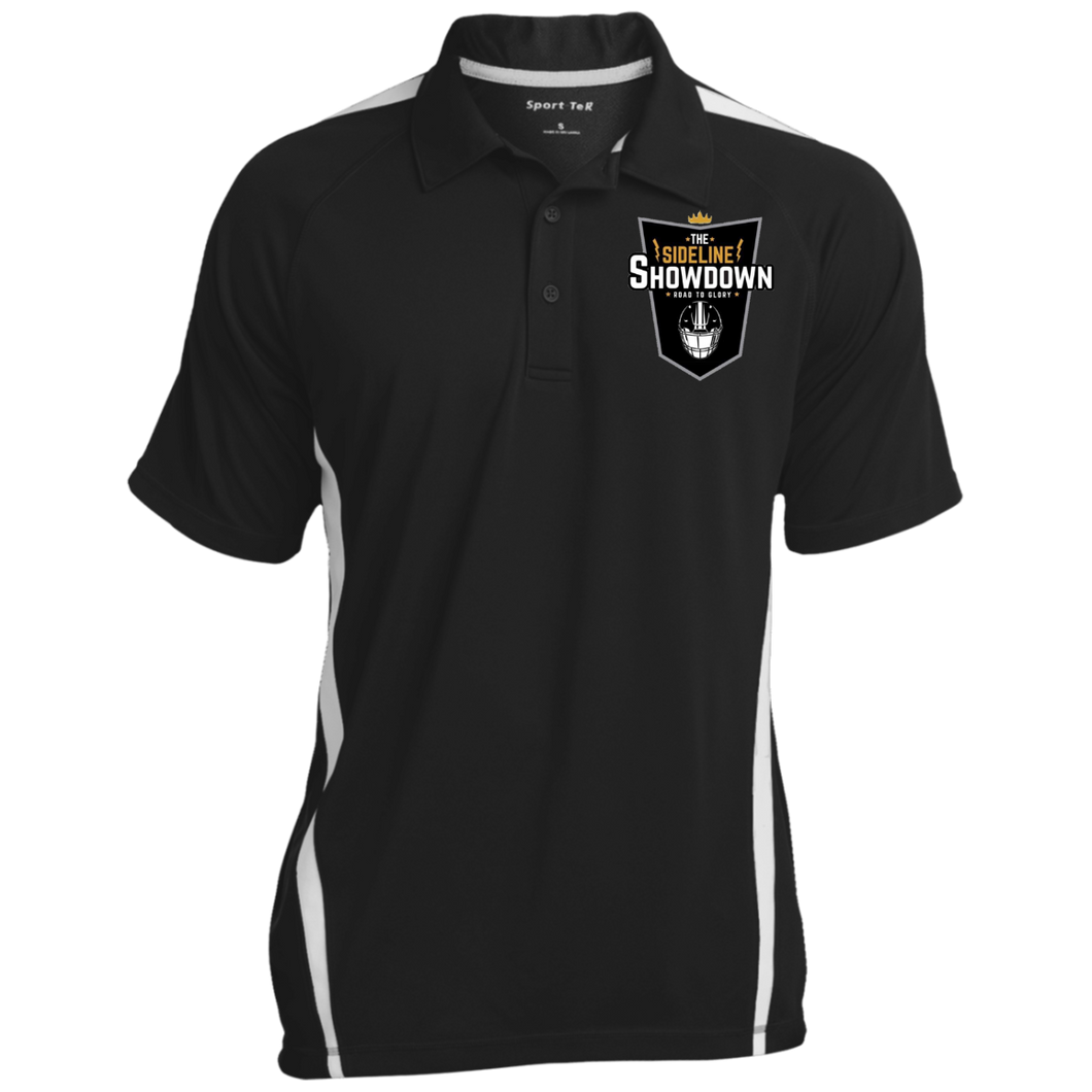 The Sideline Showdown Series Men's Colorblock 3-Button Polo