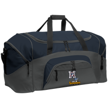 Load image into Gallery viewer, Omaha Patriots at The Sideline Showdown Series Colorblock Sport Duffel