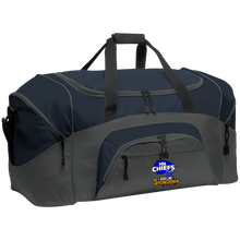 Load image into Gallery viewer, MN Chiefs at The Sideline Showdown Series Colorblock Sport Duffel