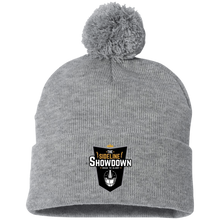 Load image into Gallery viewer, The Sideline Showdown Series Pom Pom Knit Cap