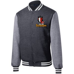 Manitoba Wildlings at The Sideline Showdown Series Fleece Letterman Jacket