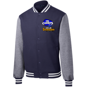MN Chiefs at The Sideline Showdown Series Fleece Letterman Jacket
