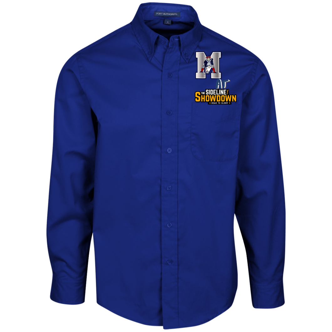 Omaha Patriots at The Sideline Showdown Series Men's LS Dress Shirt