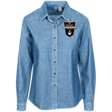 Load image into Gallery viewer, The Sideline Showdown Series Women's LS Denim Shirt