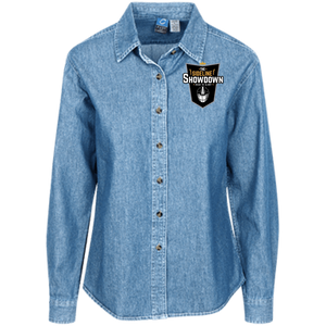 The Sideline Showdown Series Women's LS Denim Shirt