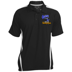 Montana Outlaws at The Sideline Showdown Series Men's Colorblock 3-Button Polo
