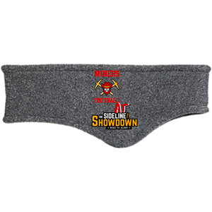 Miners Football at The Sideline Showdown Series  Fleece Headband