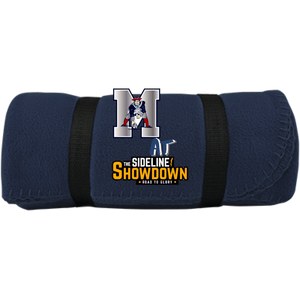 Omaha Patriots at The Sideline Showdown Series Fleece Blanket