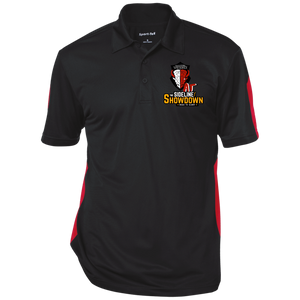 Manitoba Wildlings at The Sideline Showdown Series Performance Textured Three-Button Polo