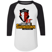 Load image into Gallery viewer, Manitoba Wildlings at The Sideline Showdown Series Colorblock Raglan Jersey
