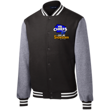 Load image into Gallery viewer, MN Chiefs at The Sideline Showdown Series Fleece Letterman Jacket