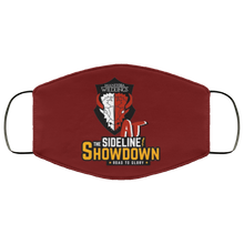 Load image into Gallery viewer, Manitoba Wildlings at The Sideline Showdown Series FMA Face Mask