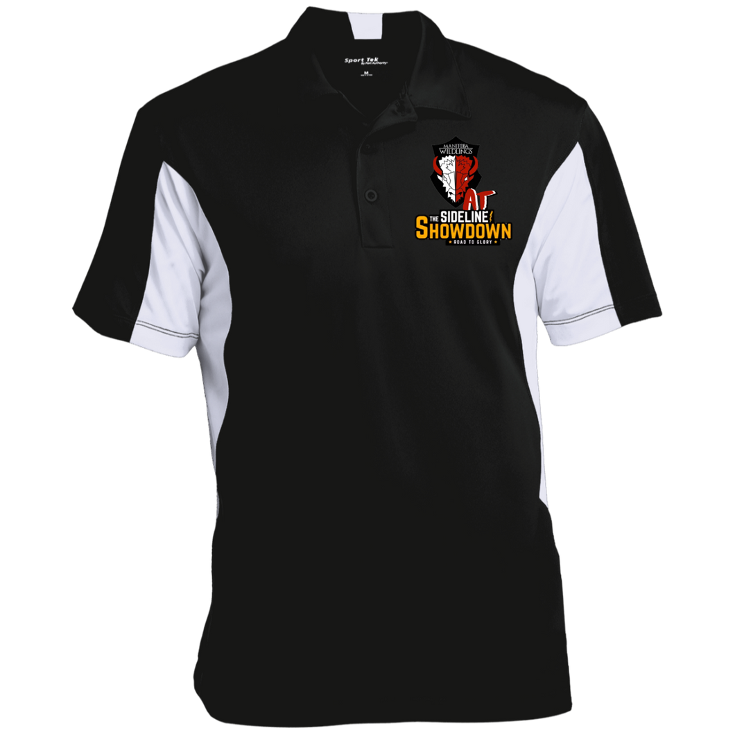 Manitoba Wildlings at The Sideline Showdown Series Men's Colorblock Performance Polo
