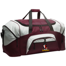 Load image into Gallery viewer, Manitoba Wildlings at The Sideline Showdown Series Colorblock Sport Duffel