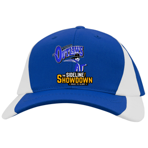 Montana Outlaws at The Sideline Showdown Series Youth Mid-Profile Colorblock Cap