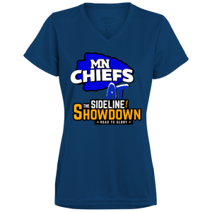 MN Chiefs at The Sideline Showdown Series Ladies' Wicking T-Shirt