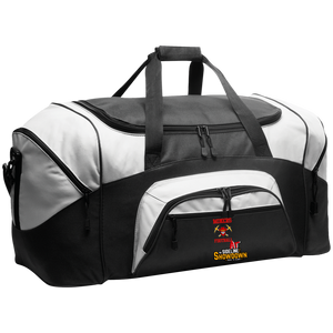 Miners Football at The Sideline Showdown Series  Colorblock Sport Duffel