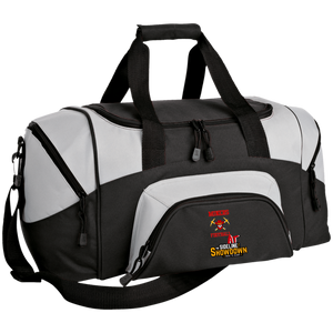 Miners Football at The Sideline Showdown Series Small Colorblock Sport Duffel Bag