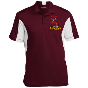 Miners Football at The Sideline Showdown Series Men's Colorblock Performance Polo