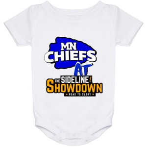 MN Chiefs at The Sideline Showdown Series Baby Onesie 24 Month