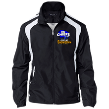 Load image into Gallery viewer, MN Chiefs at The Sideline Showdown Series Youth Colorblock Jacket