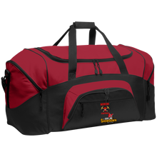 Load image into Gallery viewer, Miners Football at The Sideline Showdown Series  Colorblock Sport Duffel