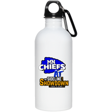Load image into Gallery viewer, MN Chiefs at The Sideline Showdown Series 20 oz. Stainless Steel Water Bottle