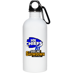 MN Chiefs at The Sideline Showdown Series 20 oz. Stainless Steel Water Bottle