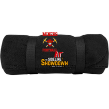 Load image into Gallery viewer, Miners Football at The Sideline Showdown Series  Fleece Blanket
