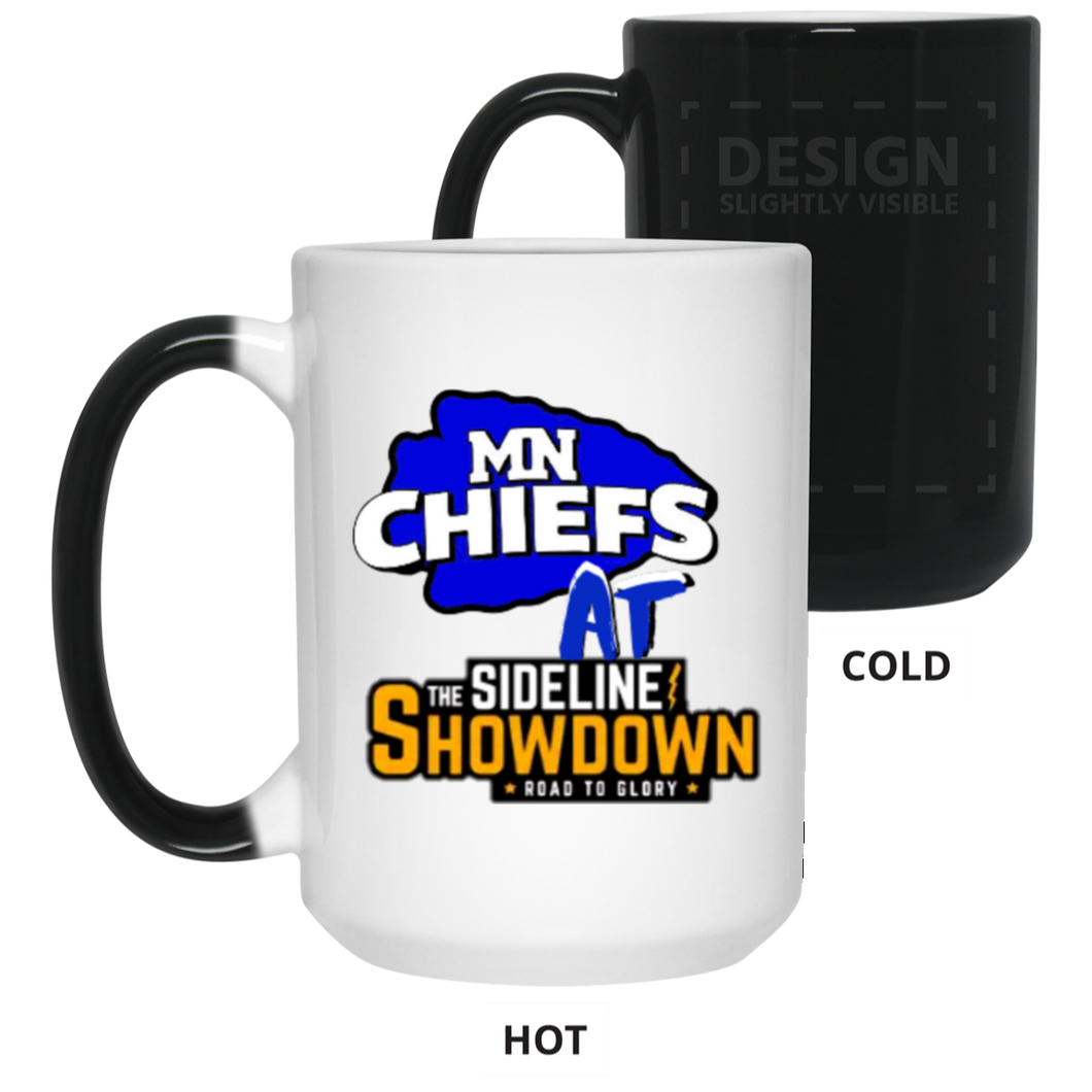 MN Chiefs at The Sideline Showdown Series 15 oz. Color Changing Mug