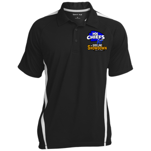 MN Chiefs at The Sideline Showdown Series Men's Colorblock 3-Button Polo