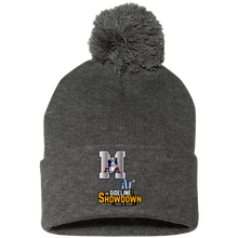 Load image into Gallery viewer, Omaha Patriots at The Sideline Showdown Series Pom Pom Knit Cap