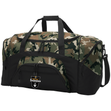 Load image into Gallery viewer, The Sideline Showdown Series Colorblock Sport Duffel