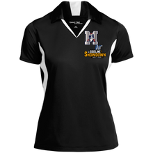 Load image into Gallery viewer, Omaha Patriots at The Sideline Showdown Series Ladies' Colorblock Performance Polo