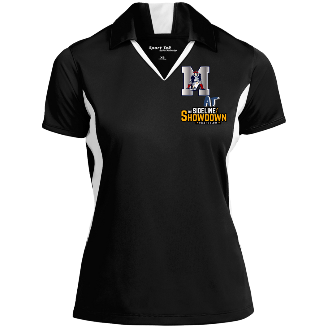 Omaha Patriots at The Sideline Showdown Series Ladies' Colorblock Performance Polo