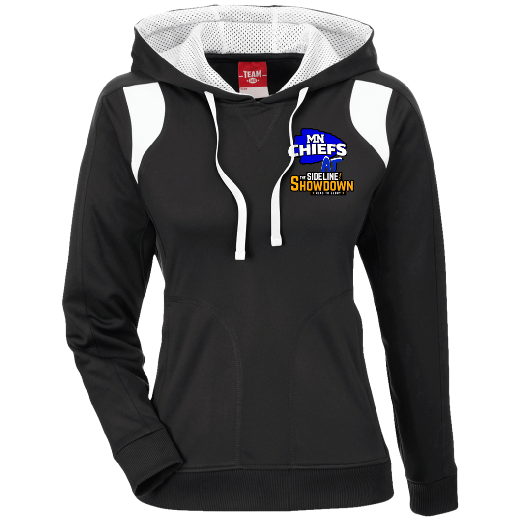 MN Chiefs at The Sideline Showdown Series Ladies' Colorblock Poly Hoodie