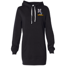 Load image into Gallery viewer, Omaha Patriots at The Sideline Showdown Series Women's Hooded Pullover Dress