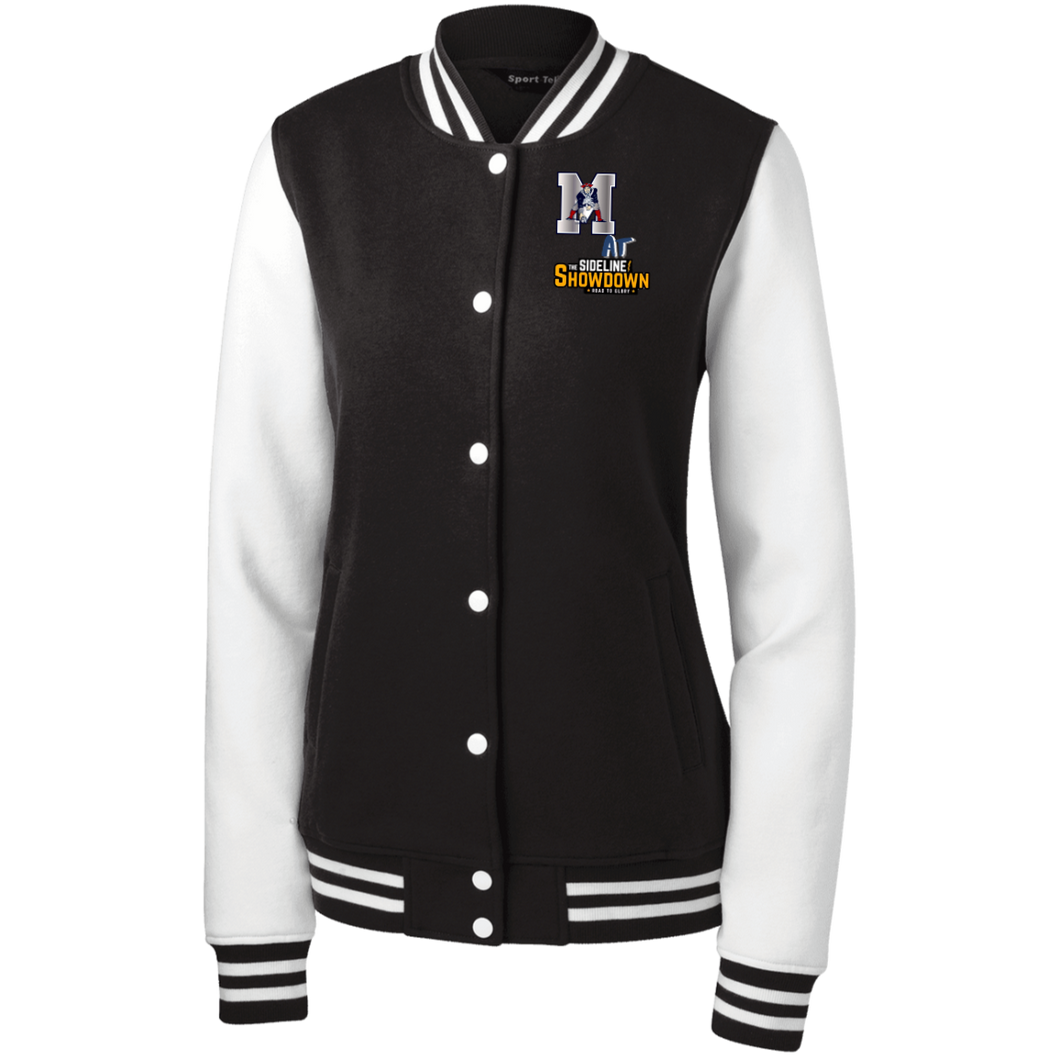 Omaha Patriots at The Sideline Showdown Series Women's Fleece Letterman Jacket