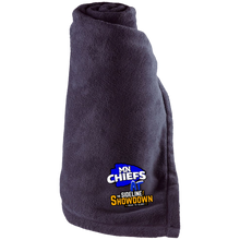 Load image into Gallery viewer, MN Chiefs at The Sideline Showdown Series Large Fleece Blanket