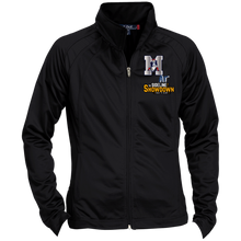 Load image into Gallery viewer, Omaha Patriots at The Sideline Showdown Series Ladies' Raglan Sleeve Warmup Jacket