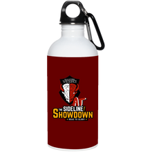 Load image into Gallery viewer, Manitoba Wildlings at The Sideline Showdown Series 20 oz. Stainless Steel Water Bottle