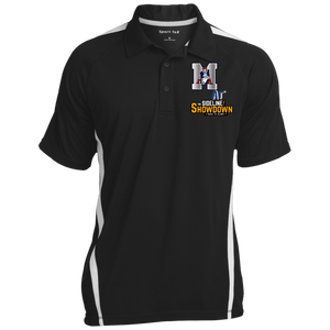Omaha Patriots at The Sideline Showdown Series Men's Colorblock 3-Button Polo