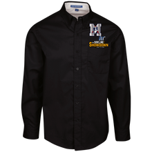Load image into Gallery viewer, Omaha Patriots at The Sideline Showdown Series Men's LS Dress Shirt