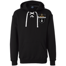 Load image into Gallery viewer, The Sideline Showdown Series Heavyweight Sport Lace Hoodie