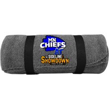 Load image into Gallery viewer, MN Chiefs at The Sideline Showdown Series Fleece Blanket
