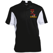 Load image into Gallery viewer, Miners Football at The Sideline Showdown Series Men's Colorblock Performance Polo