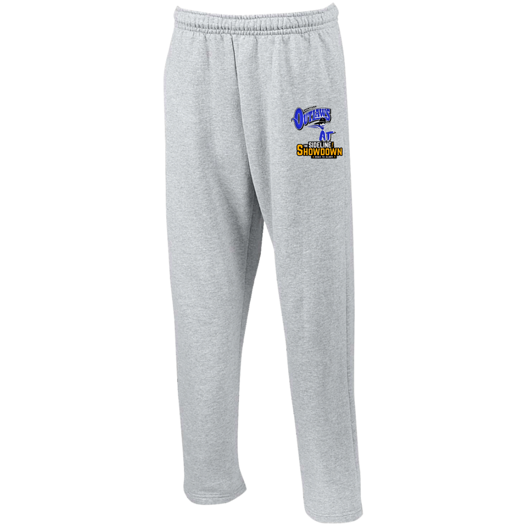 Montana Outlaws at The Sideline Showdown Series Open Bottom Sweatpants with Pockets
