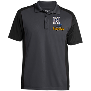 Omaha Patriots at The Sideline Showdown Series Men's Colorblock Sport-Wick Polo