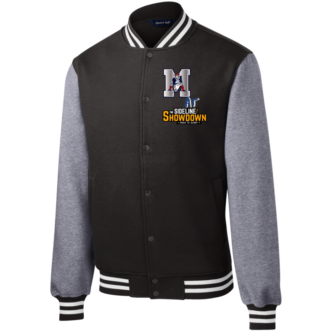 Omaha Patriots at The Sideline Showdown Series Fleece Letterman Jacket